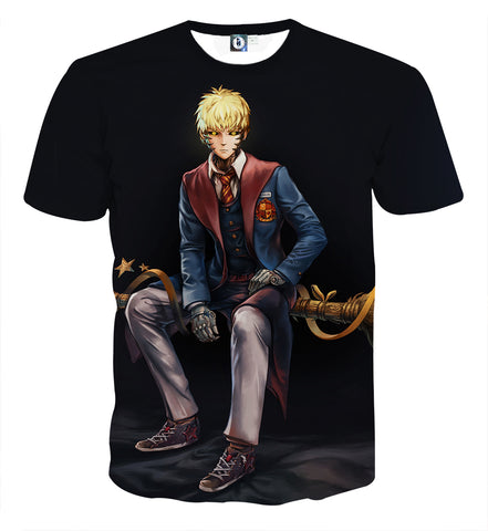T-shirt One Punch Man Genos student