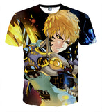 T-shirt One Punch Man Genos Resurrection