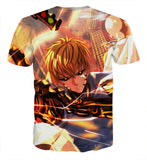 T-shirt One Punch Man Genos Downtown