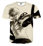 T-shirt One Punch Man Genos Cowboy Bebop