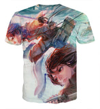 T-shirt Attack on titan Together