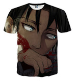 T-shirt Attack on titan i am Levy