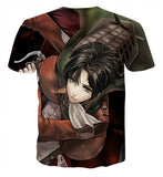 T-shirt Attack on titan Desperate