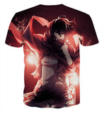 T-shirt Attack on titan Spring