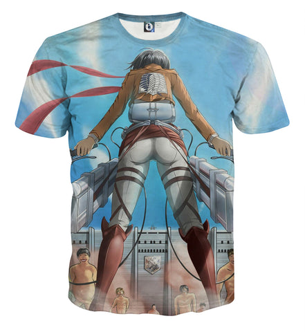 T-shirt Attack on titan Departure
