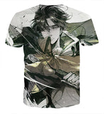 T-shirt Attack on titan Winter