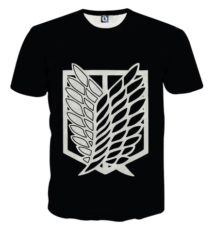 T-shirt Attack on titan Logo Wings of liberty