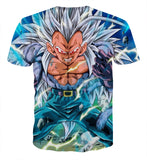 Tee shirt Dragon Ball Vegeta Super Saiyan 6