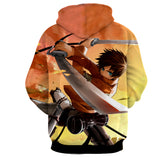 Hoodie Attack on Titan Eren determination