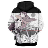 Hoodie Attack on Titan Levy Daiou