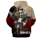 Hoodie Attack on Titan Shingeki no Kyojin