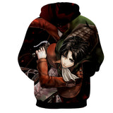 Hoodie Attack on Titan Commando
