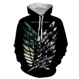 Hoodie Attack on Titan Wings of liberty