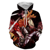 Hoodie Attack on Titan Rage