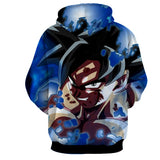 Hoodie Dragon Ball Son Goku Hell