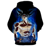 Hoodie Dragon Ball Son Goku Concentration