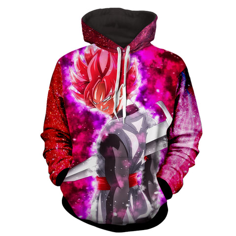Hoodie Dragon Ball Cosmos San Goku God revenge