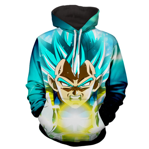 Hoodie Dragon Ball Cosmos Vegeta Final Flash
