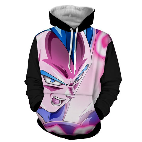 Hoodie Dragon Ball Dark Vegeta mode On