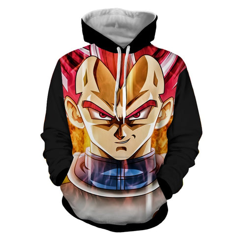 Hoodie Dragon Ball Dark Vegeta smile