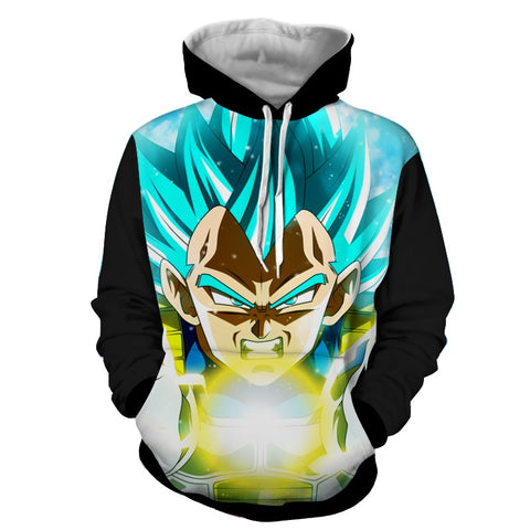 Hoodie Dragon Ball Dark Vegeta Final Flash