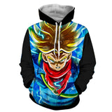 Hoodie Dragon Ball Dark Trunks