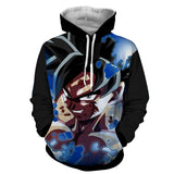 Hoodie Dragon Ball Dark San Goku Concentration
