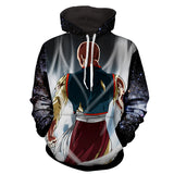 Hoodie Dragon Ball Cosmos Ten Shin Han posture