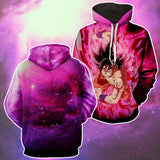 Hoodie Dragon Ball Cosmos San Goku Bubble attack