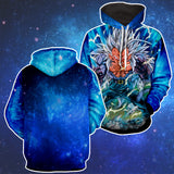 Hoodie Dragon Ball Vegeta Super Saiyan 6