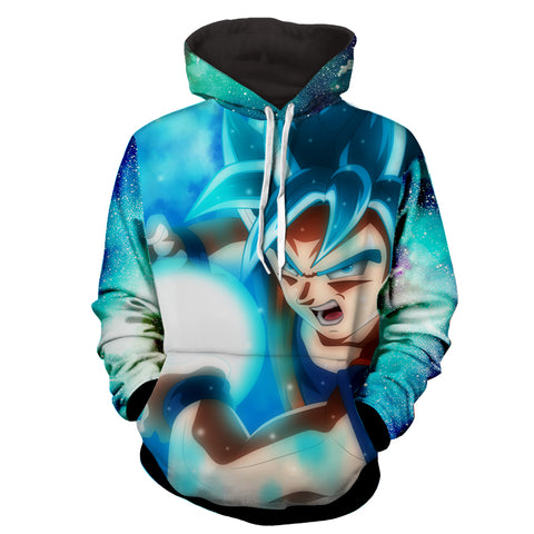 Hoodie Dragon Ball Cosmos San Goku God Fireball