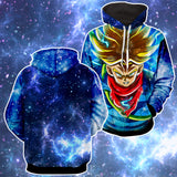 Hoodie Dragon Ball Cosmos Adult Trunk Super Saiyan
