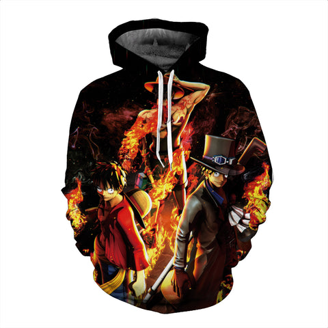 Hoodie One Piece Brotherhood