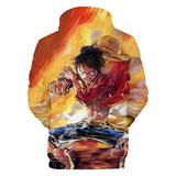 Hoodie One Piece Luffy Art