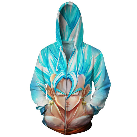 Jacket Dragon Ball Vegito God.