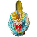 Jacket Dragon Ball Trunks adult 3D Premium