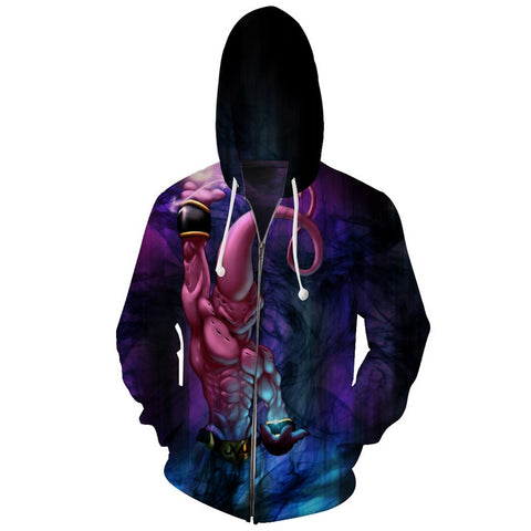 Jacket Dragon Ball Majin Buu 3D premium