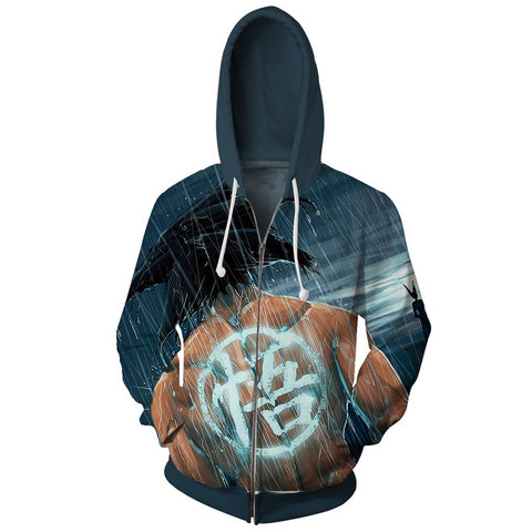 Jacket Dragon Ball Son Goku Rain 3D Premium