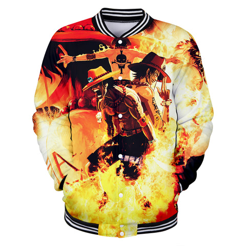 Jacket One Piece Fire Fist Ace