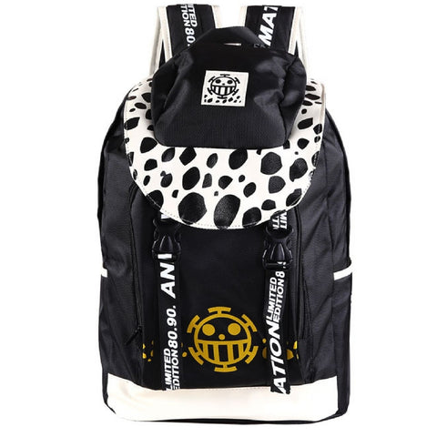 Leather backpack Trafalgar Law