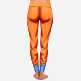 Legging Dragon Ball special San Goku edition training mode