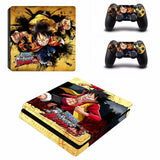 Luffy attacks decal skin PS4