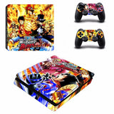 Luffy vs Doflamingo decal skin PS4