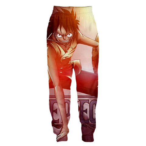 Streetwear Pants Luffy here and now !