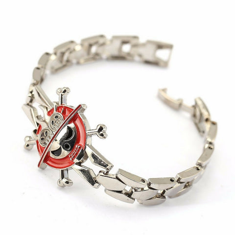 Bracelet Portgas D. Ace hat metal alloy