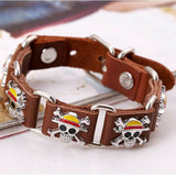 Bracelet logo genuine leather buckle belt