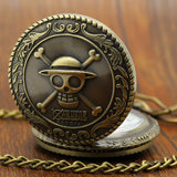 Pocket watch straw hat crew symbol bronze vintage design
