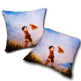 Pillow One Piece double side printed 17.7x17.7in ( 45x45 cm)