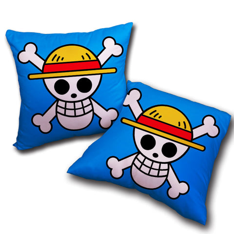 Pillow One Piece Straw Hat Pirates logo