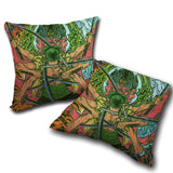 Pillow One Piece double side printed 13.8x13.8in ( 35x35 cm)